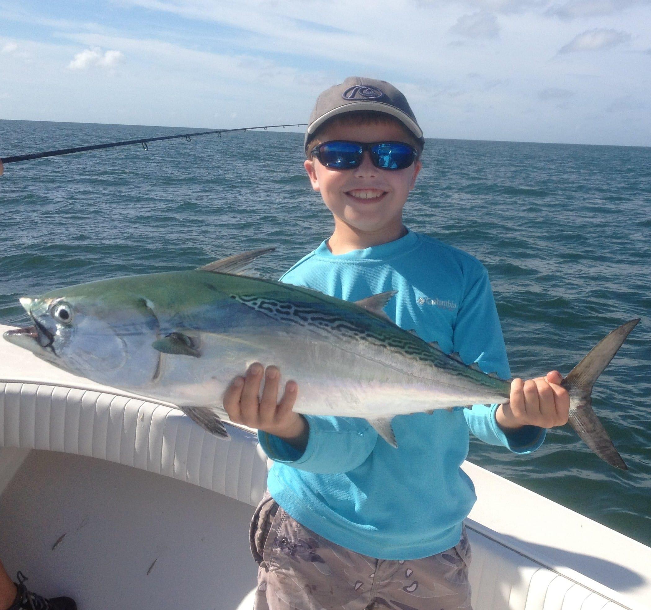 Sunday october 30 2011 bonita out in the gulf for Bonita fish recipes