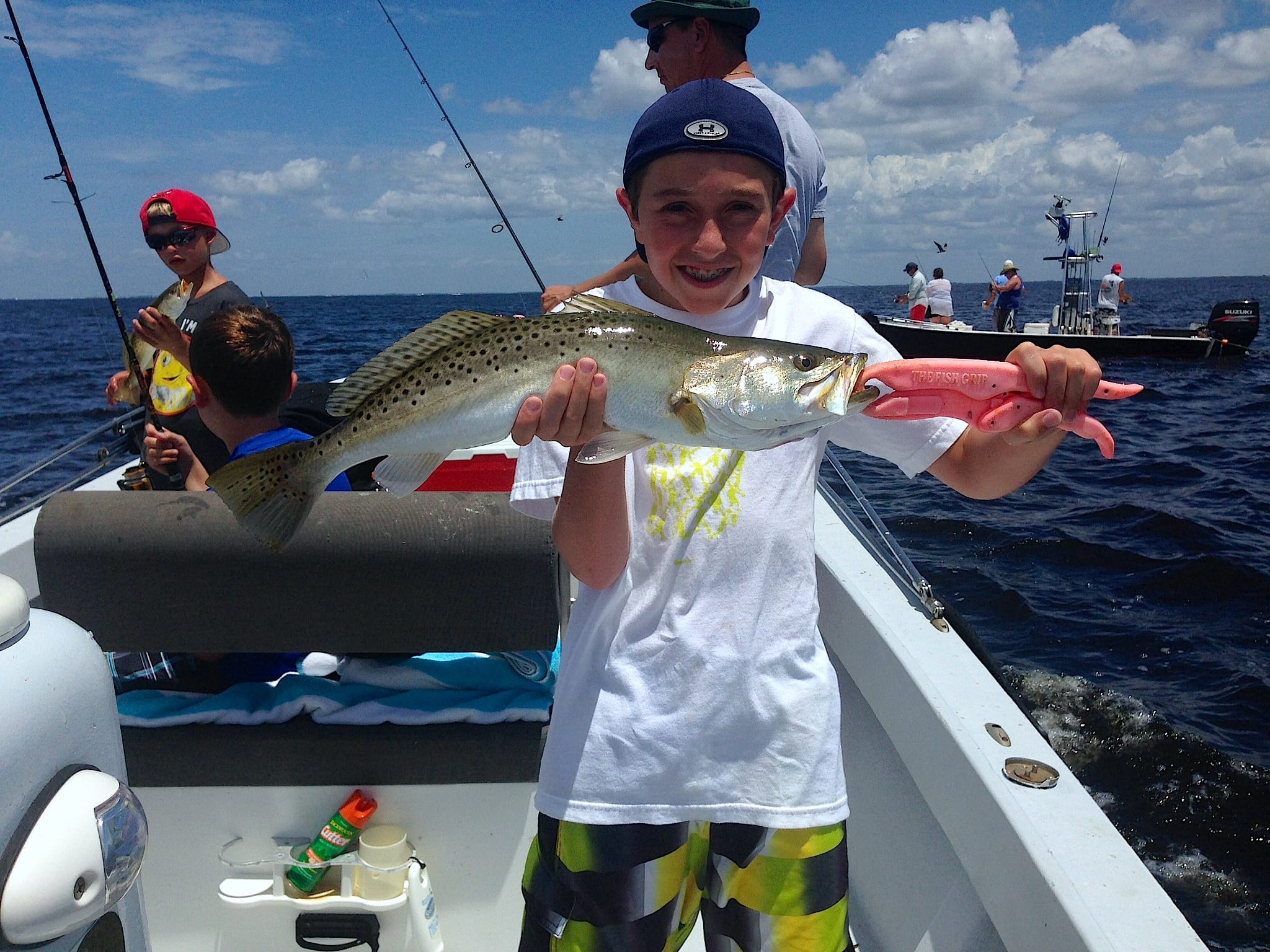 Friday 8 16 13 captiva fishing report fun day in the for North florida fishing report