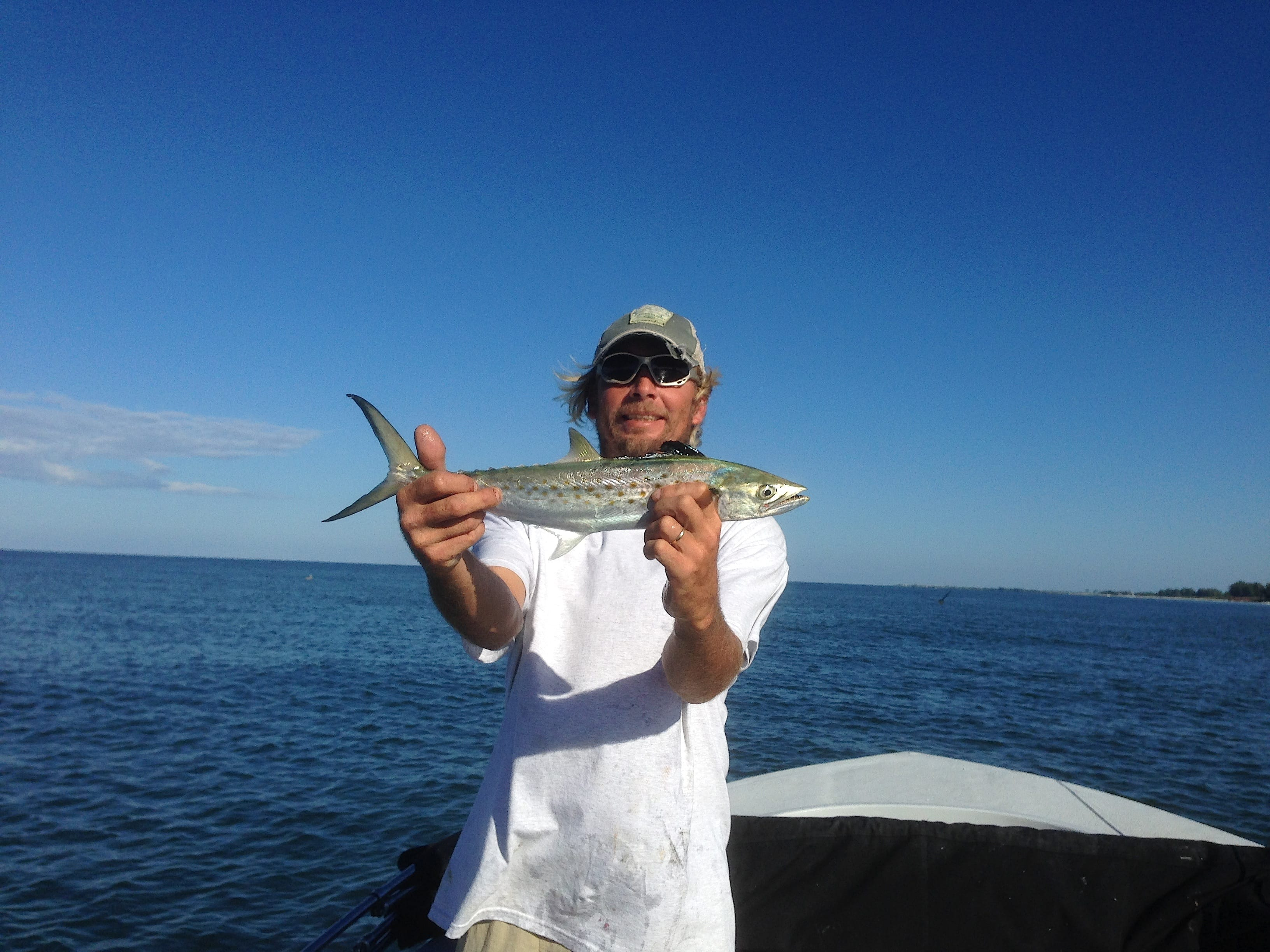 Sunday 10 13 13 captiva fishing report spanish mackerel for Captiva island fishing charters