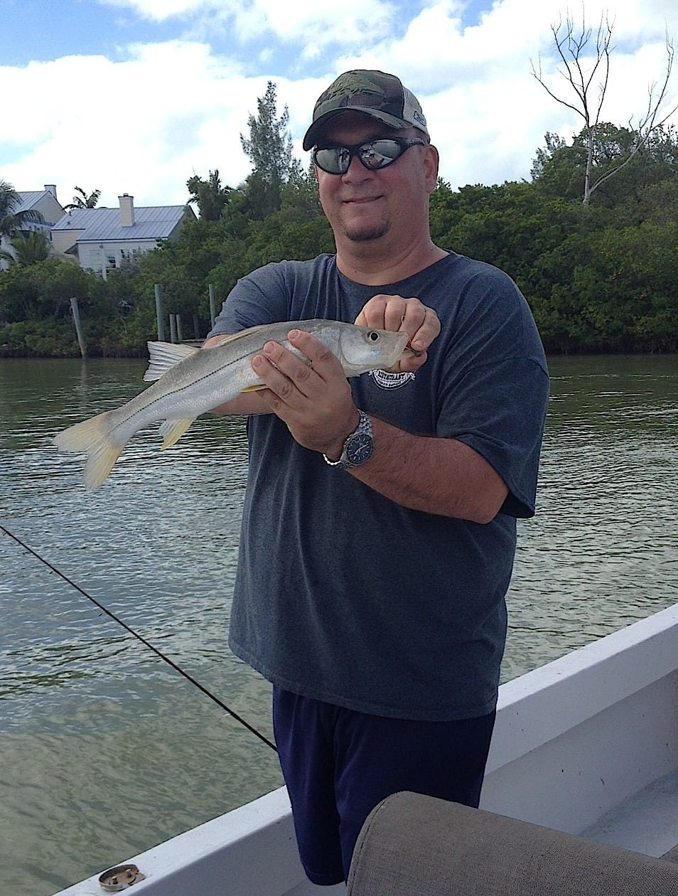 Wednesday 12 4 13 captiva fishing report snook for Sanibel island fishing report