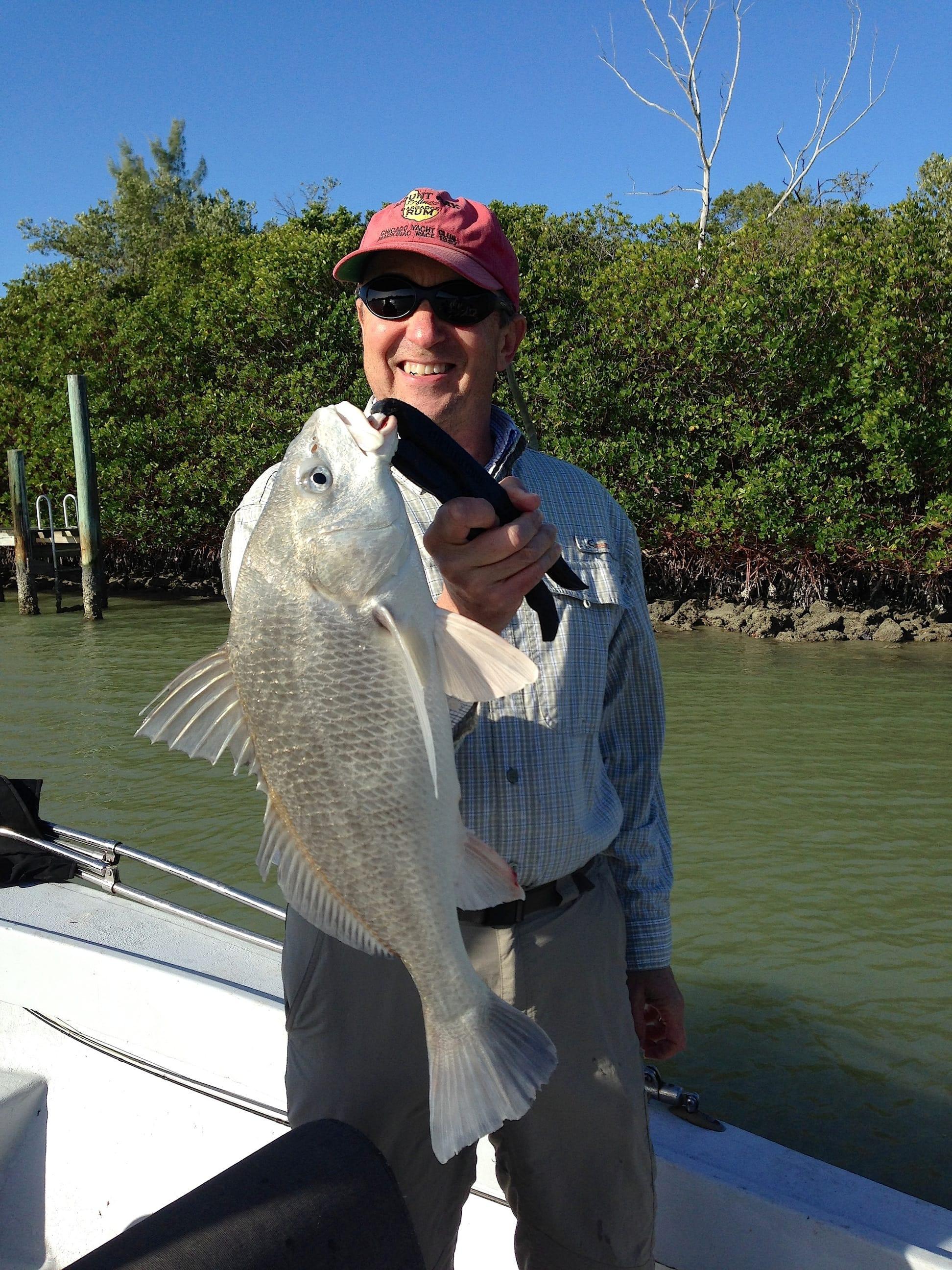 Saturday 1 18 14 captiva fishing report black drum for Sanibel fishing report