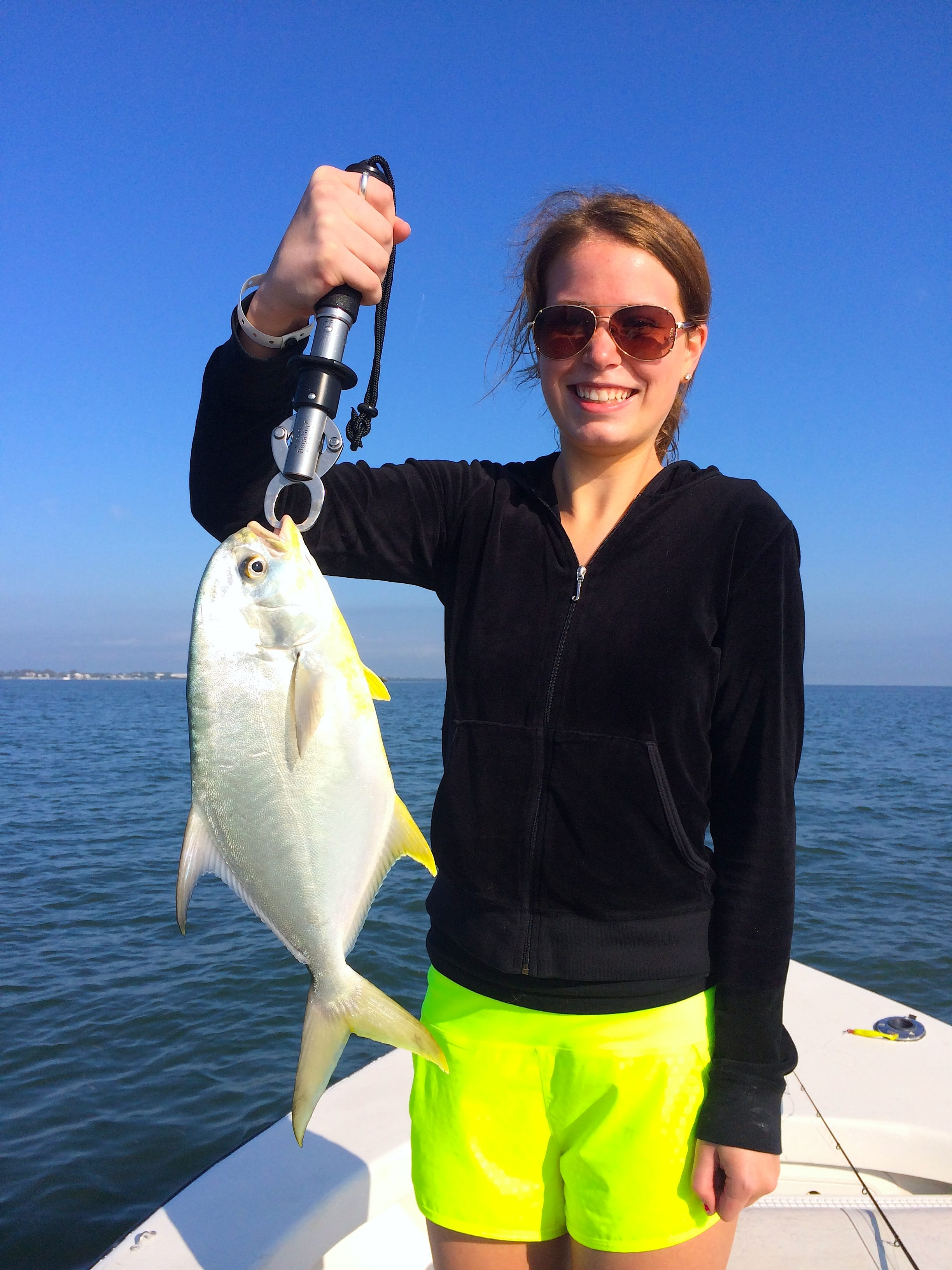 Tuesday 3 11 14 captiva fishing report pompano being for Pompano fish good to eat