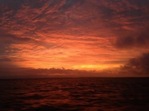 Sanibel Island sunrise, 4-18-14, Sanibel & Captiva Islands & Fort Myers Charters & Fishing Guide Service.