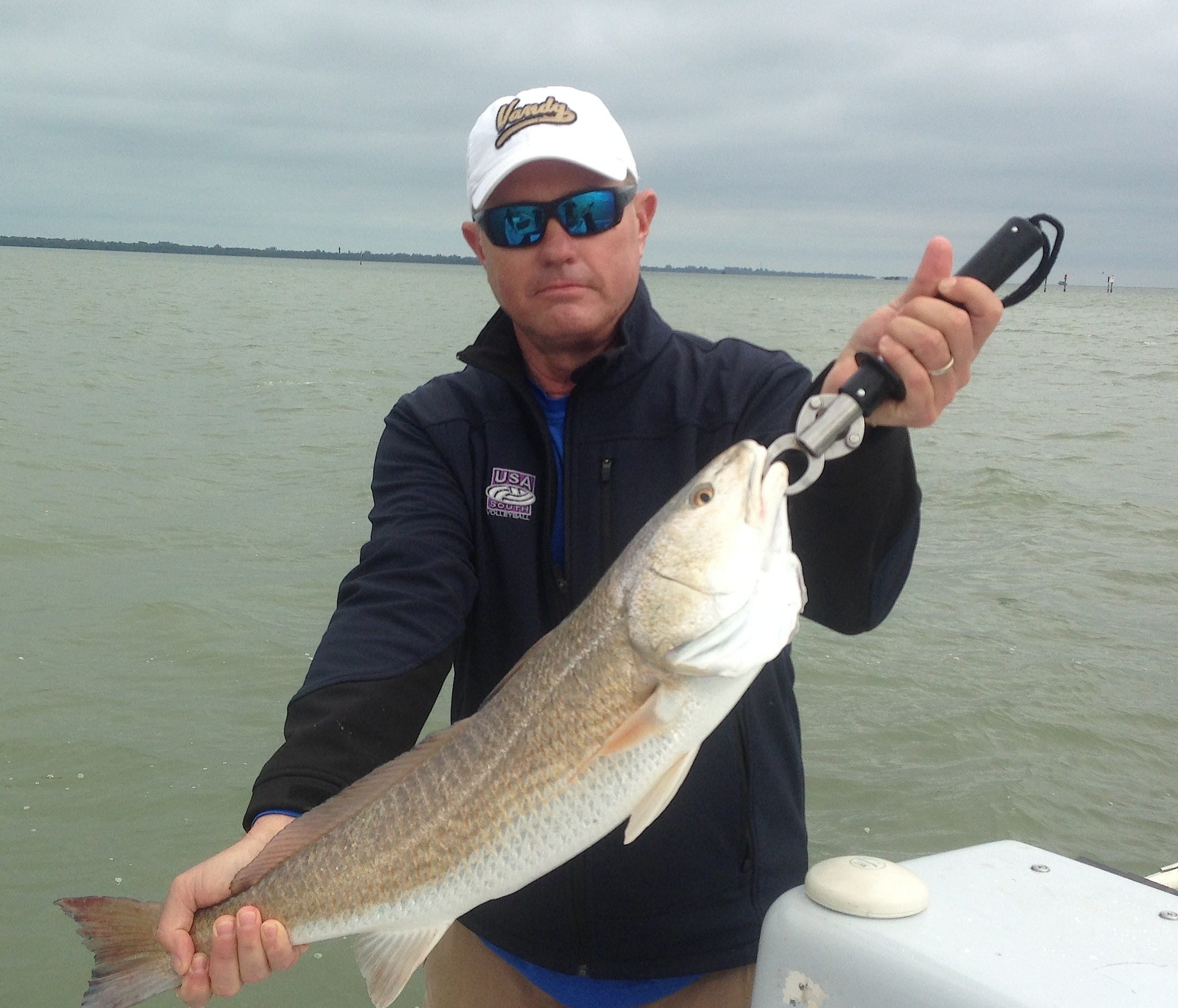 Redfish, 4-16-14, Sanibel & Captiva Islands & Fort Myers Charters & Fishing Guide Service.
