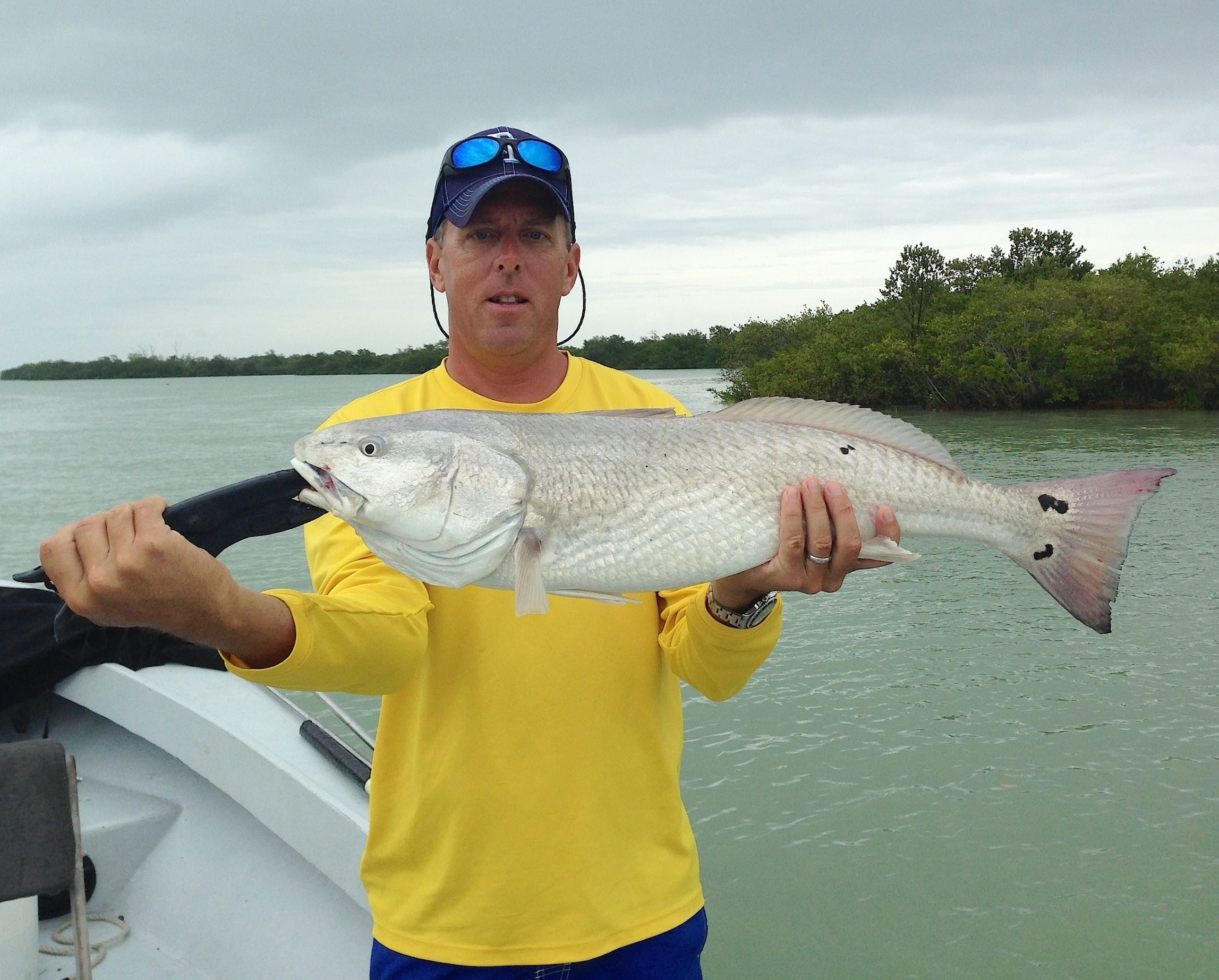 Redfish, 4-18-14, Sanibel & Captiva Islands & Fort Myers Charters & Fishing Guide Service.