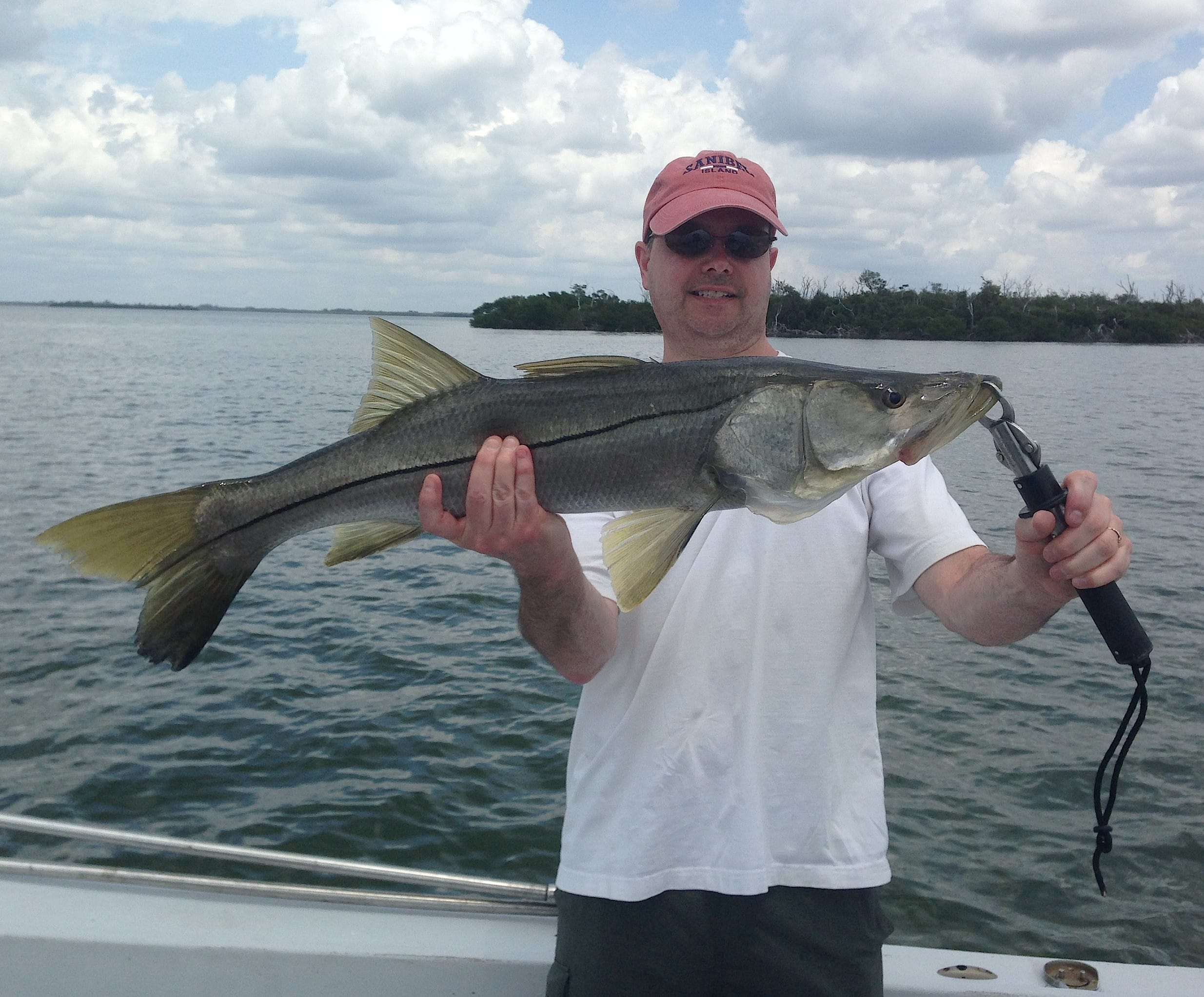Snook, 4-17-14, Sanibel & Captiva Islands & Fort Myers Charters & Fishing Guide Service.