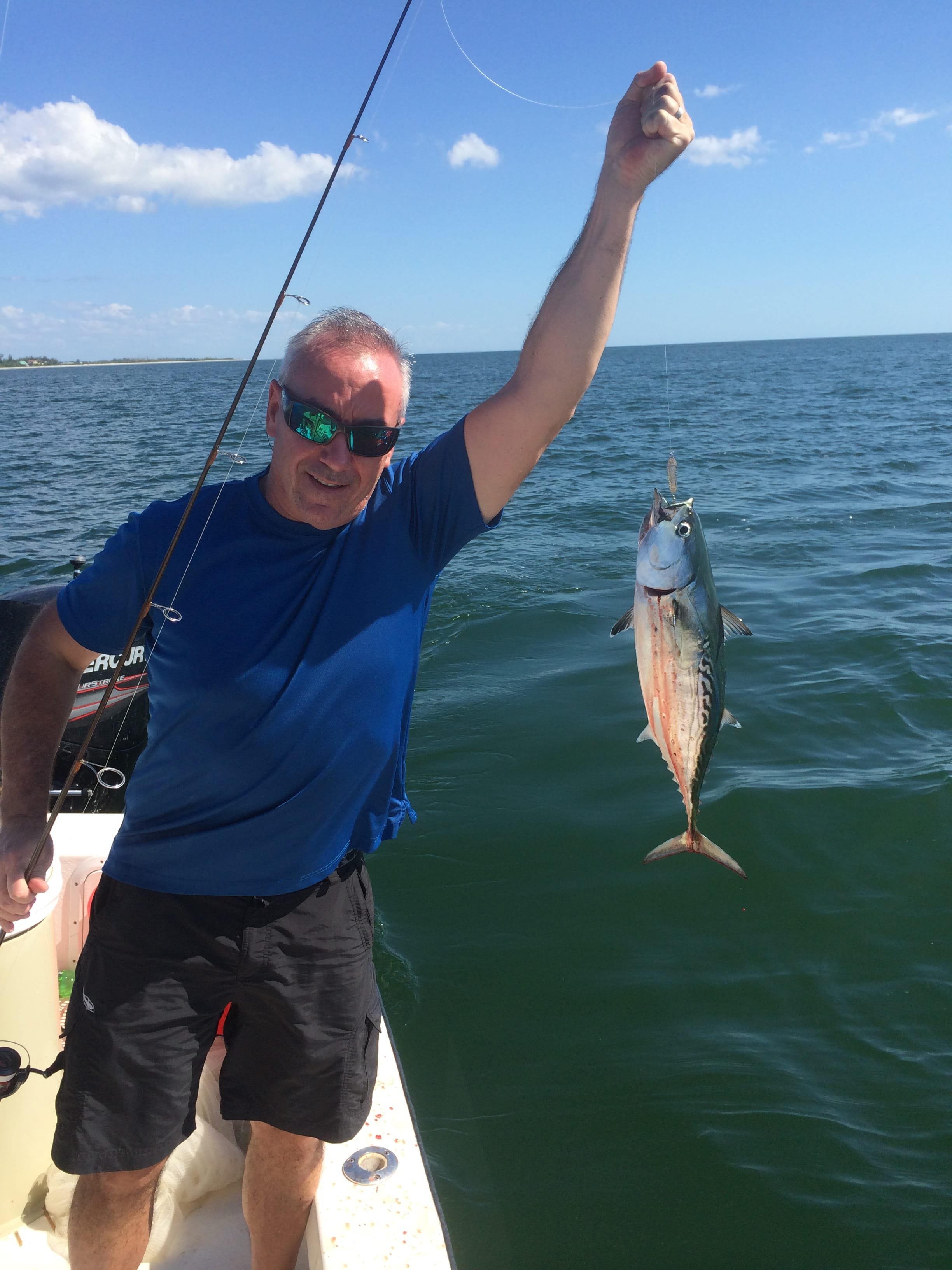 False Albacore Tuna, Little Tunny, 10-17-14,, Sanibel Fishing & Captiva Fishing & Fort Myers Fishing Charters & Guide Service.