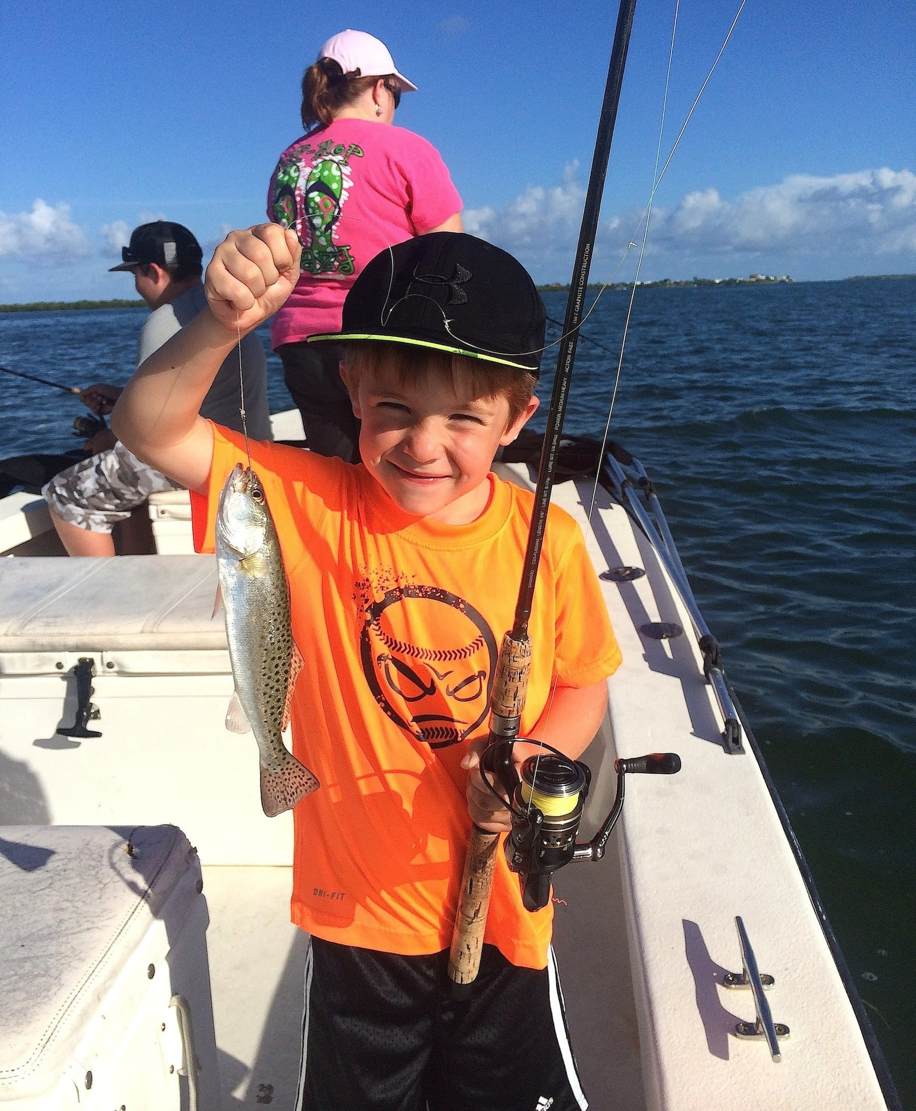 Sea trout, 11-20-14, Sanibel Fishing & Captiva Fishing & Fort Myers Fishing Charters & Guide Service.