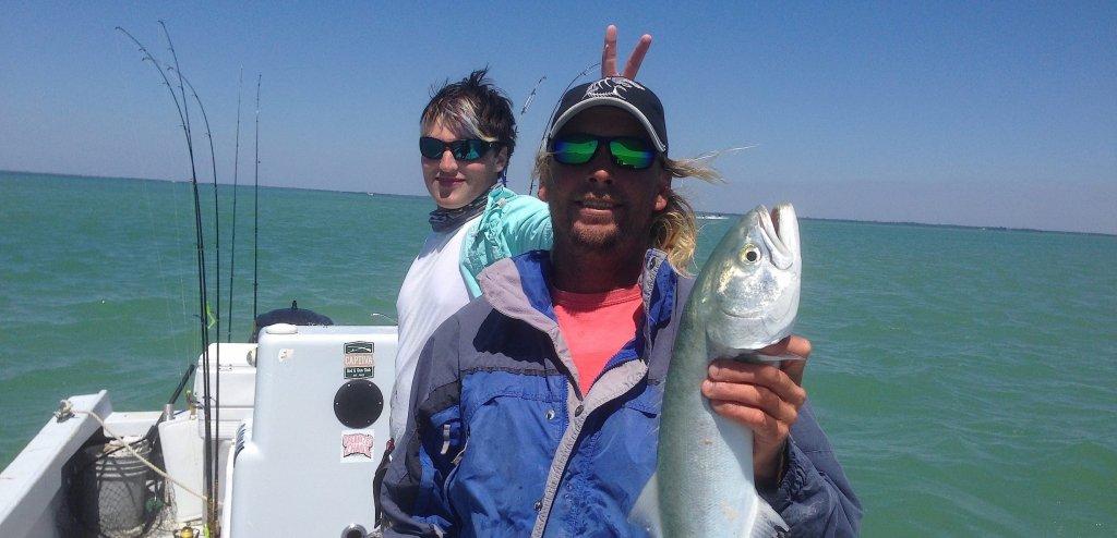 Captiva fishing report big bluefish sanibel captiva for Charlie s fishing report