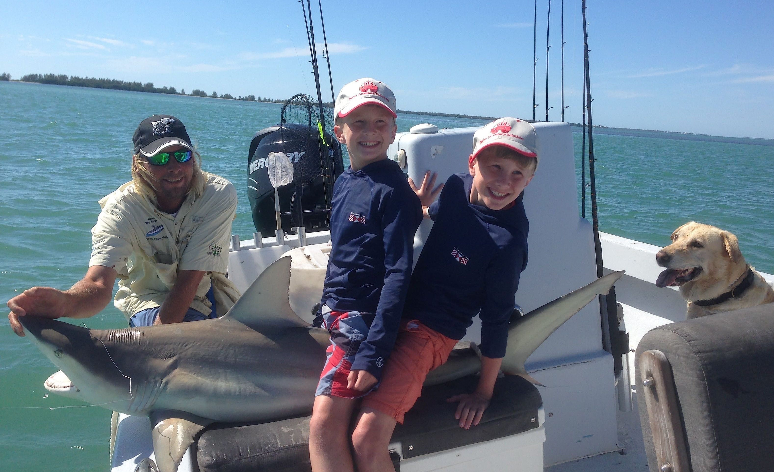 Captiva fishing report blacktip shark sanibel captiva for Sanibel island fishing report